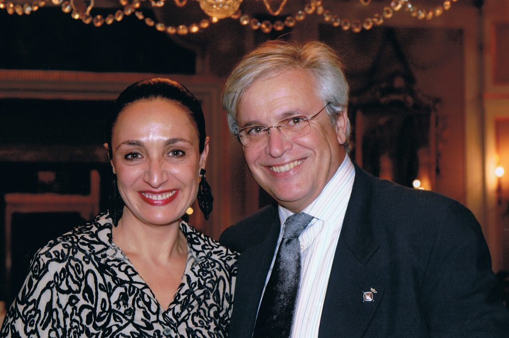 — Joan Clos and Nuria Garcés