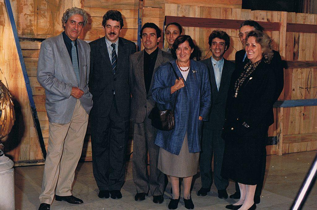 — Albert Ràfols Casamada, Pasqual Maragall, Miquel Espinet, Nuria Garcés, Maria Girona, Xavier Oliver