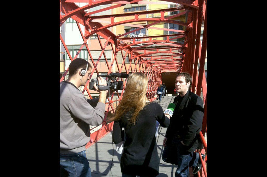— Entrevista, Girona