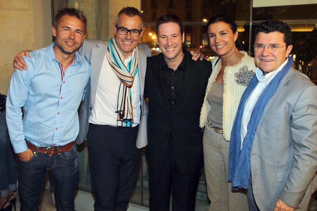 — Teatro: Rocco, Jordi González, Carlos Latre, Dra Montse Folch y Doctor Vila Rovira en YWS Barcelona, 2011