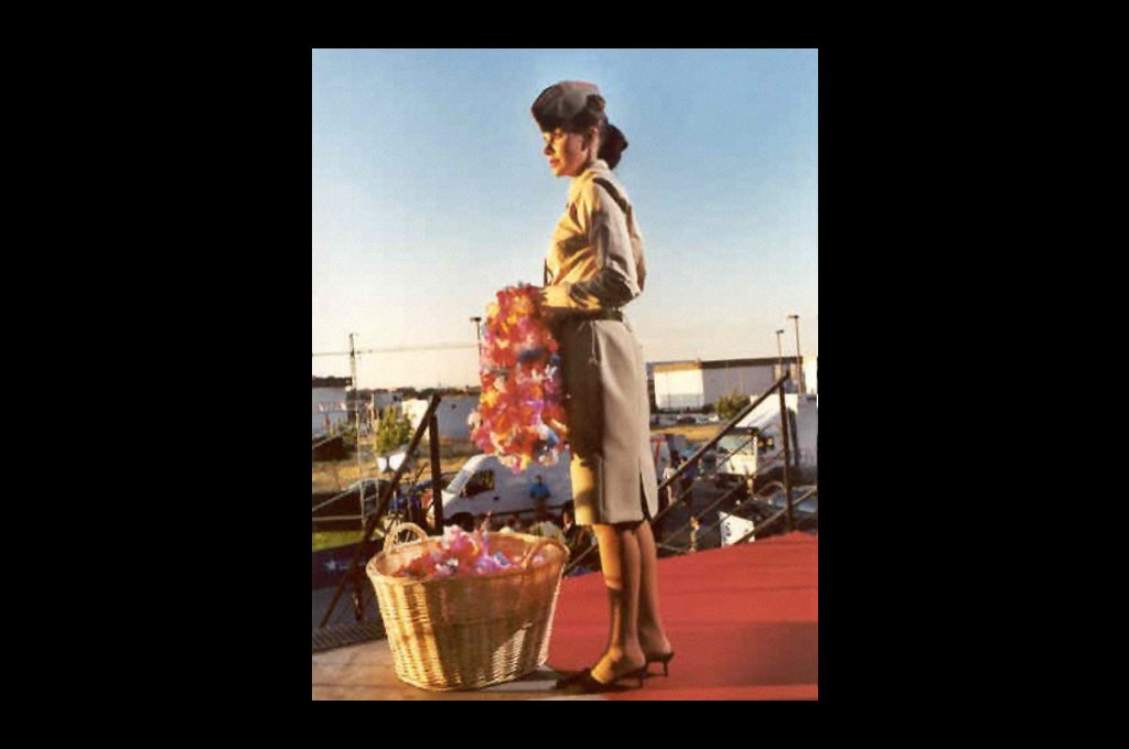 — Hostess at the opening of Pearl Harbor, 2001