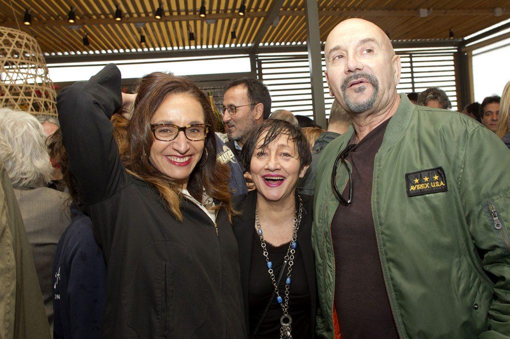 — Opening party La Guingueta, 2014. Nuria Garcés, Perpe, Gilbert Solsona