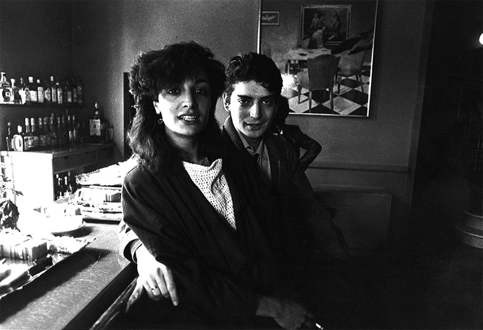 — Presentación Virgin en Barcelona. Núria Garcés and Manuel Huerga, 1983